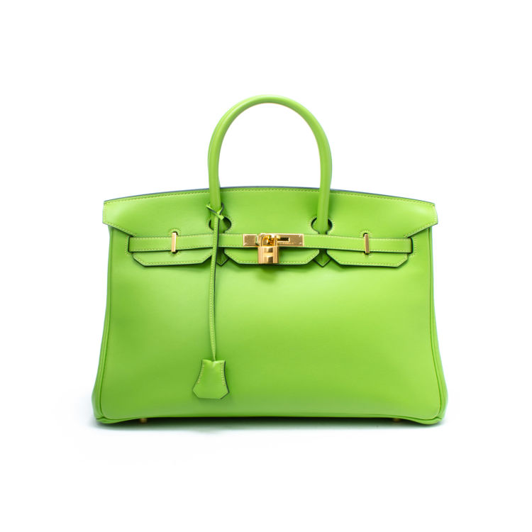 9ef9a89d41cb LXRandCo guarantees this is an authentic vintage Hermès Birkin 35 handbag.  Crafted in veau gulliver leather