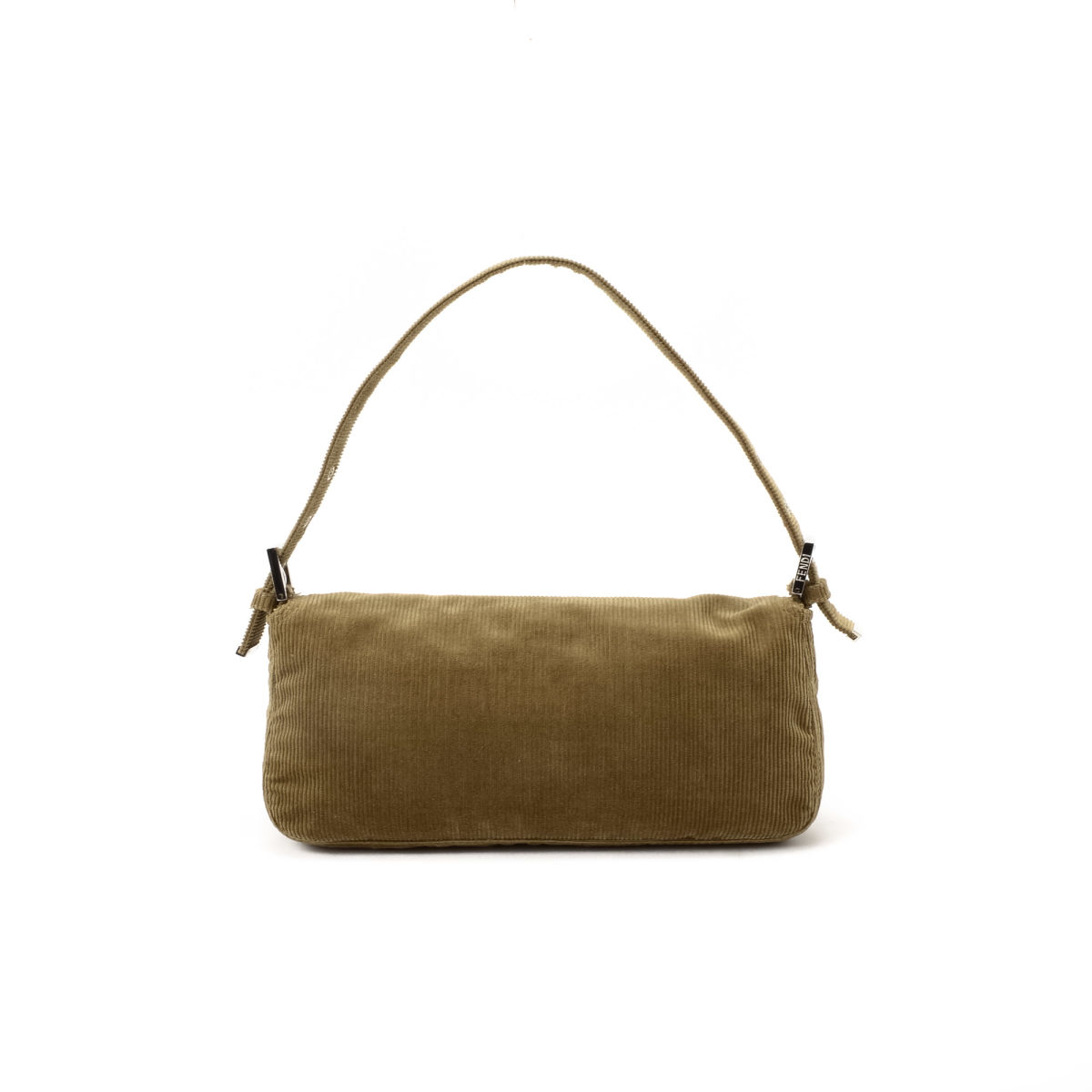 f9433035fe51 Fendi Baguette. LXRandCo guarantees the authenticity of this vintage Fendi  Baguette shoulder bag. Crafted in corduroy ...