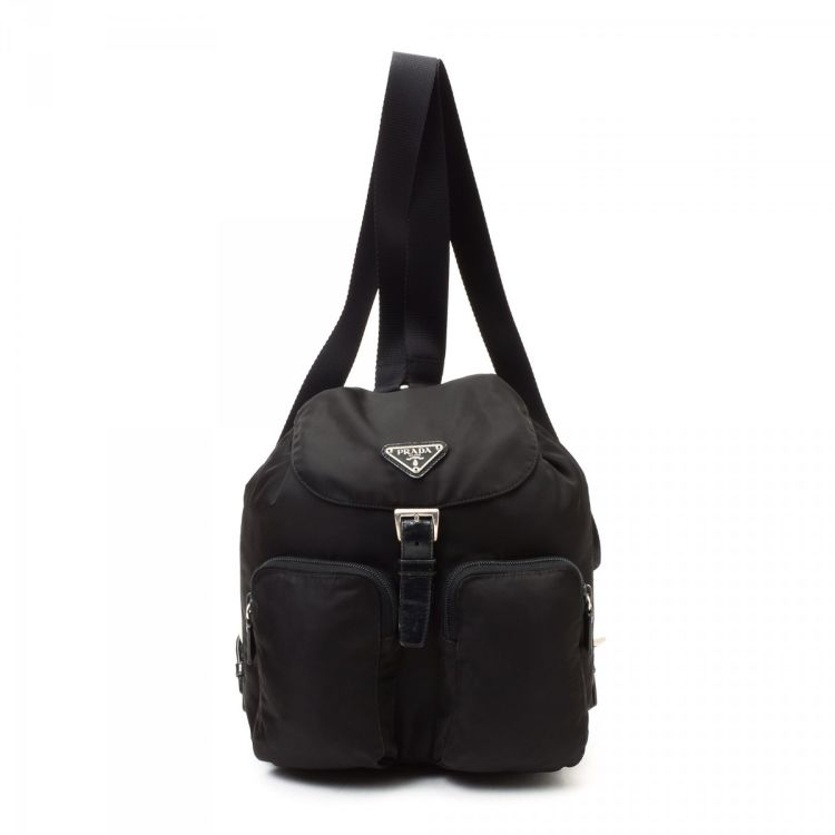 a0ac923fc5d1bf ... spain lxrandco guarantees this is an authentic vintage prada tessuto  backpack travel bag. this practical