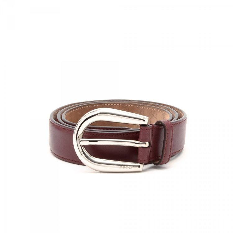 fe7d61665eb The authenticity of this vintage Gucci belt is guaranteed by LXRandCo.  Crafted in leather