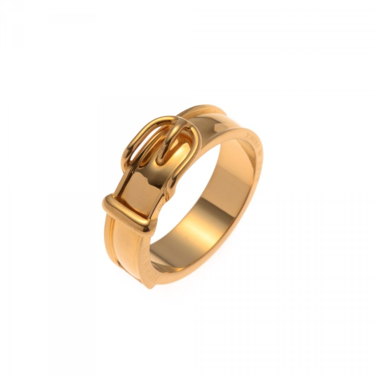 Hermes Scarf Ring Gold