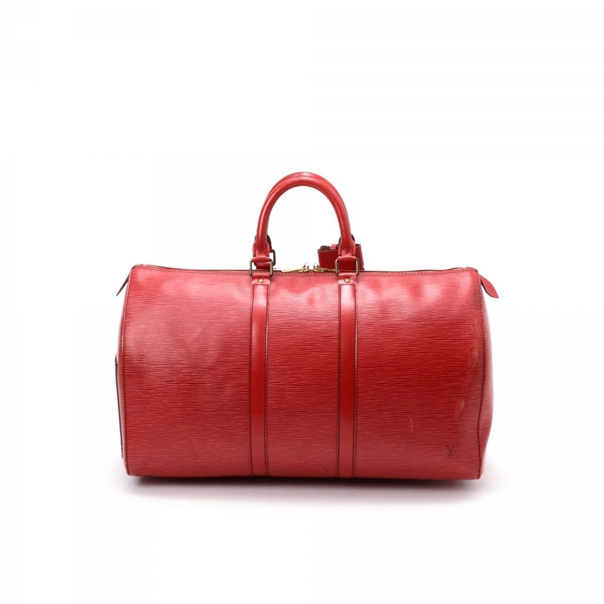 3f072f29c3cc Louis Vuitton Keepall 45 Epi Leather - LXRandCo - Pre-Owned Luxury ...