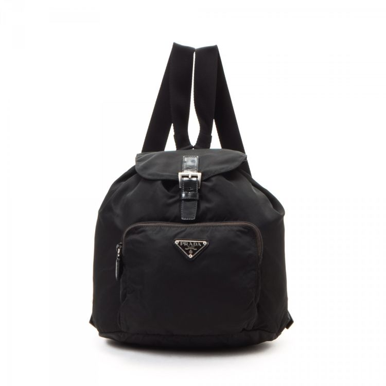 68ef05c9bc30 ... reduced prada tessuto backpack nylon lxrandco pre owned luxury vintage  3d7be d2bf5