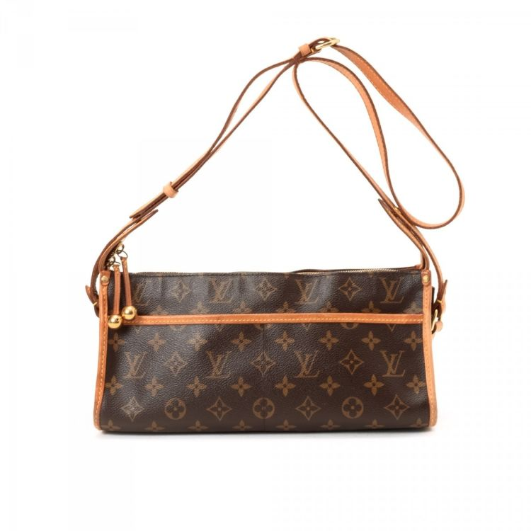 55ecb7316ff6 LXRandCo guarantees this is an authentic vintage Louis Vuitton Popincourt  Long messenger   crossbody bag. This sophisticated hobo bag was crafted in  ...