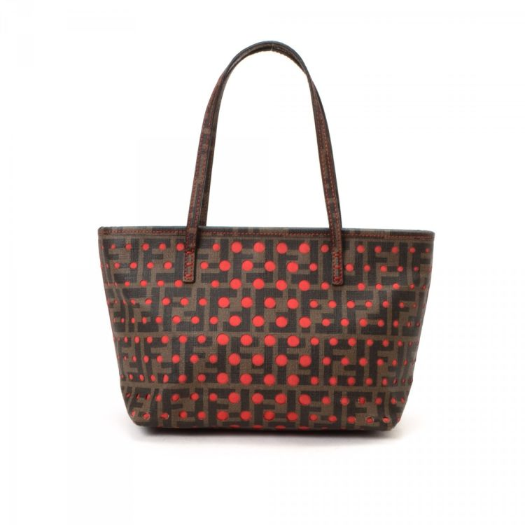 Fendi Perforated Tote