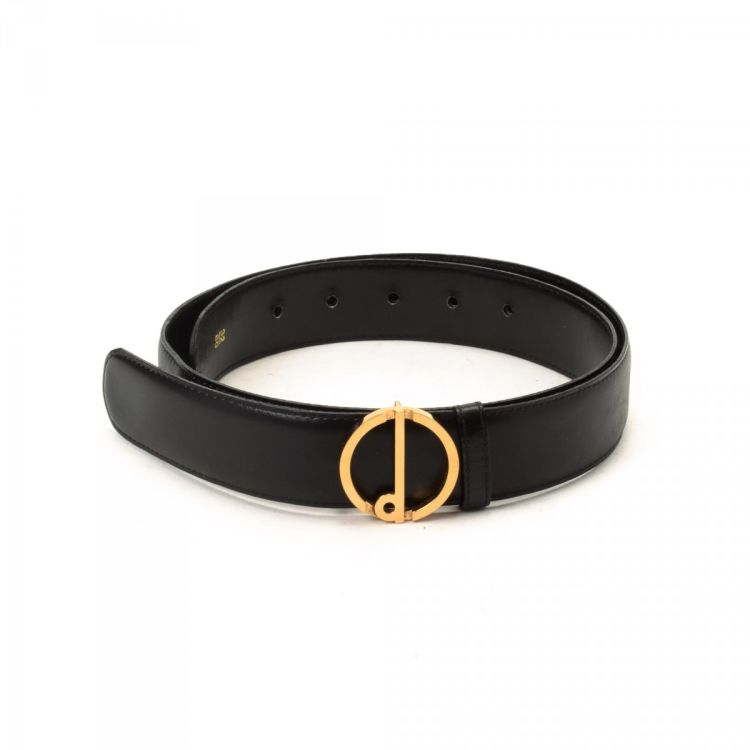 Dunhill belt Black Leather Belts