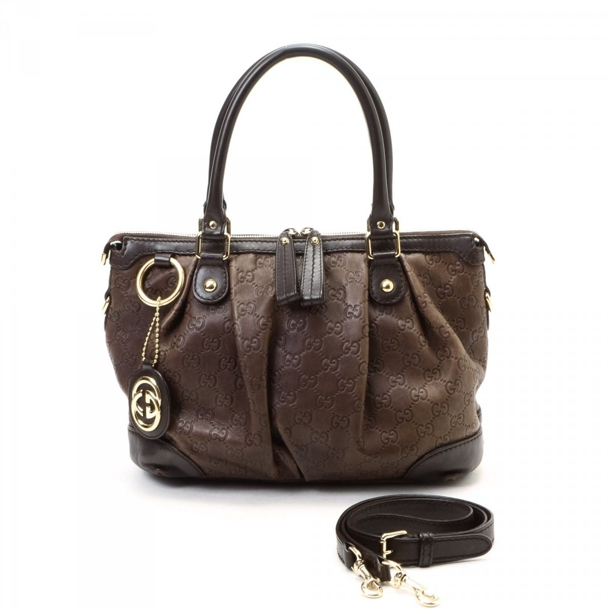 Gucci Pre-owned - Leather 24h bag ojBK09mq