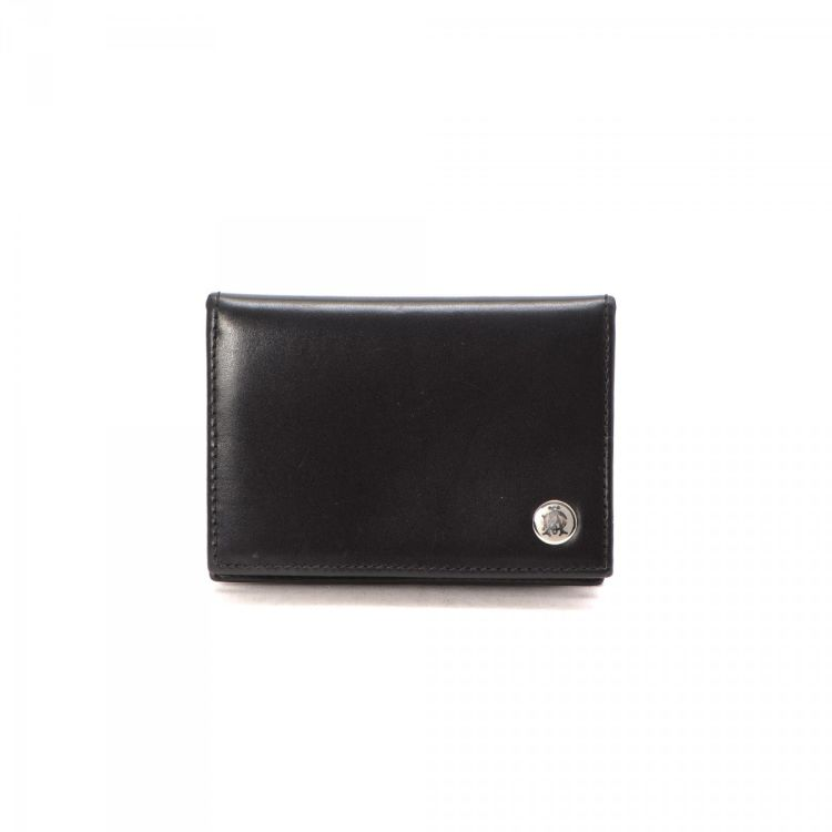 Dunhill Card Case Leather - LXRandCo - Pre-Owned Luxury Vintage
