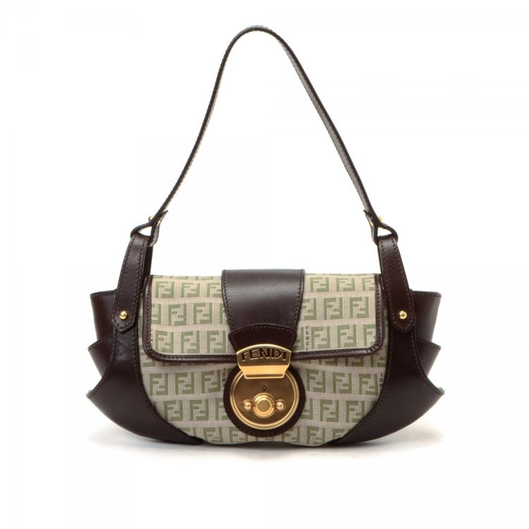c2a6a839bf03 ... new zealand lxrandco guarantees this is an authentic vintage fendi  borsa tuc handbag. this iconic ...