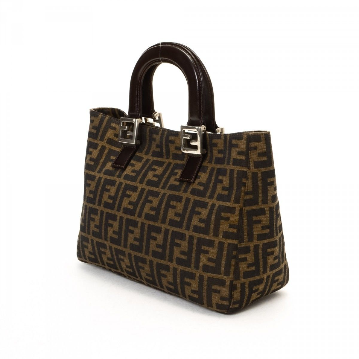 acf232479c09 Vintage Fendi Brown Soft Tote | Stanford Center for Opportunity ...