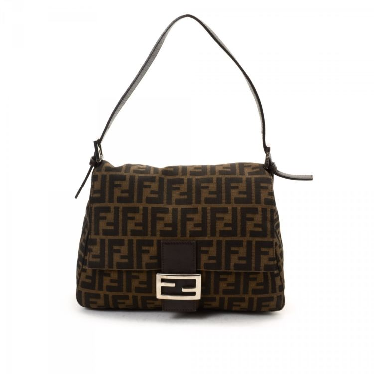6f5fdad969d0 ... clearance lxrandco guarantees the authenticity of this vintage fendi  mama baguette shoulder bag. this elegant