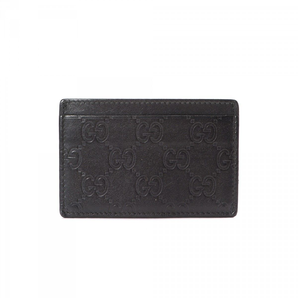 Gucci Compact Card Holder GG Leather - LXRandCo - Pre-Owned Luxury ...