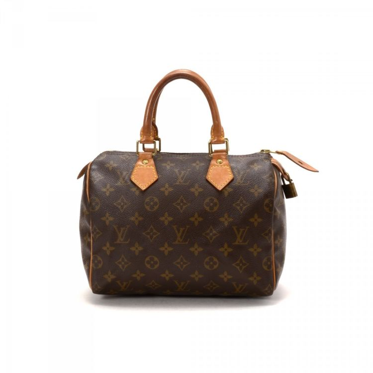 louis vuitton overnight bag. lxrandco guarantees this is an authentic vintage louis vuitton speedy 25 travel bag. elegant overnight bag comes in beautiful coated canvas. n