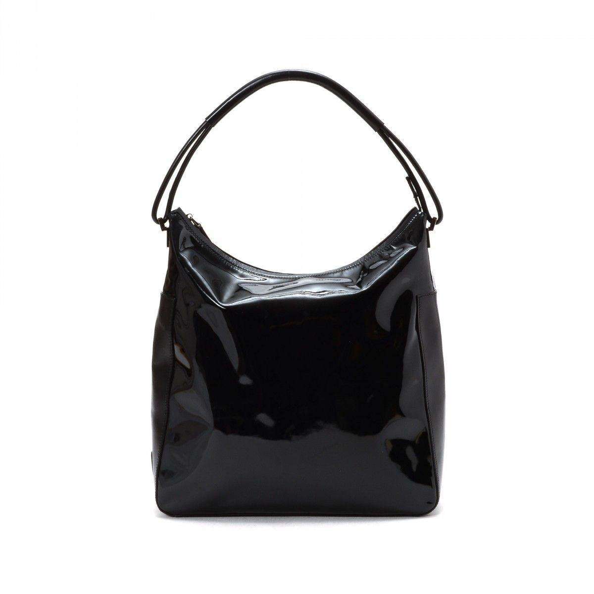 e0f31bc41 Gucci Black Patent Leather Hysteria Large Top Handle Bag Yoogi S Duffle Bags  Gucci Com ...