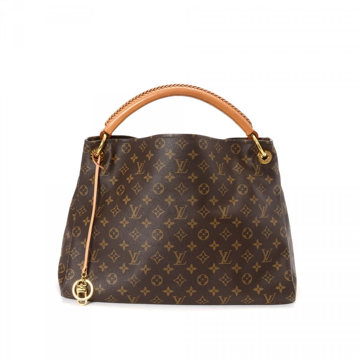Louis Vuitton Monogram Coated Canvas artsy Mm Shoulder Handbag Purse 96VlntKxmy