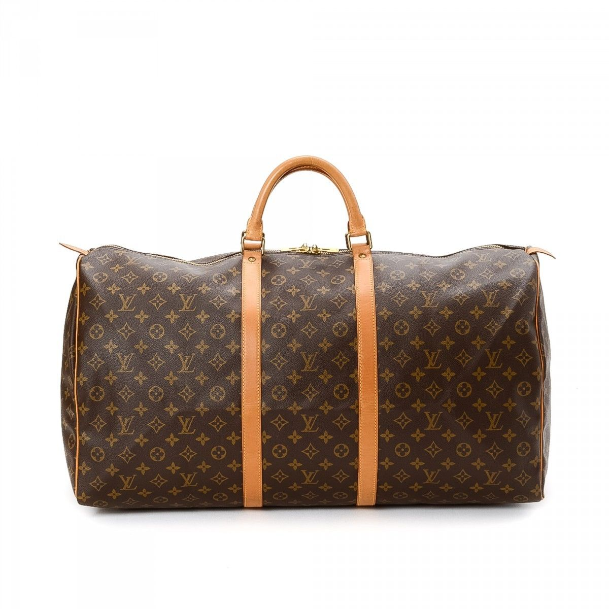 0510b6329197 Louis Vuitton Keepall 60. LXRandCo guarantees this is an authentic vintage  Louis Vuitton Keepall 60 travel bag.