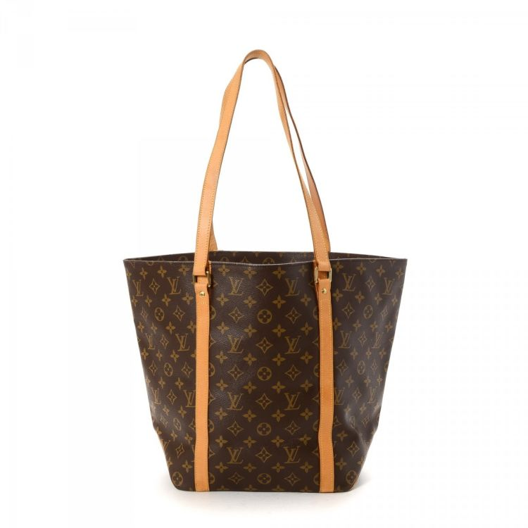 f6b10d0eacd9 Louis Vuitton Sac Shopping Monogram Coated Canvas - LXRandCo - Pre ...