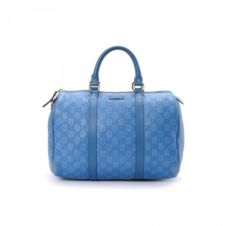 099d690012ad LXRandCo guarantees the authenticity of this vintage Gucci Joy Boston Bag  travel bag. Crafted in guccissima leather, this classic overnight bag comes  in ...