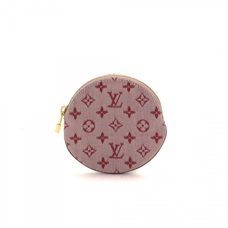 49754b274 LXRandCo guarantees the authenticity of this vintage Louis Vuitton Round  Coin Purse vanity case & pouch. This classic makeup case comes in beautiful  canvas.