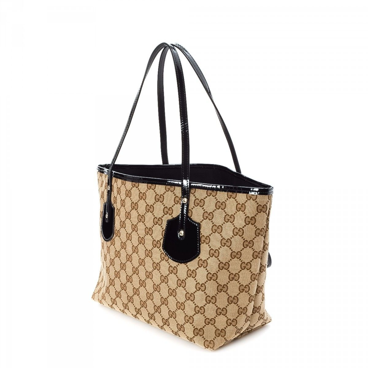 6e84ace26b5 Gucci Jolie Tote GG Canvas - LXRandCo - Pre-Owned Luxury Vintage
