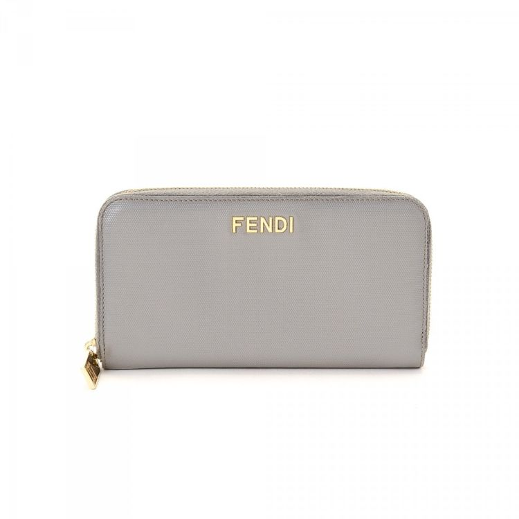 2d5f2387d41b ... usa fendi long zip wallet leather lxrandco pre owned luxury vintage  4d0ec 3fafe