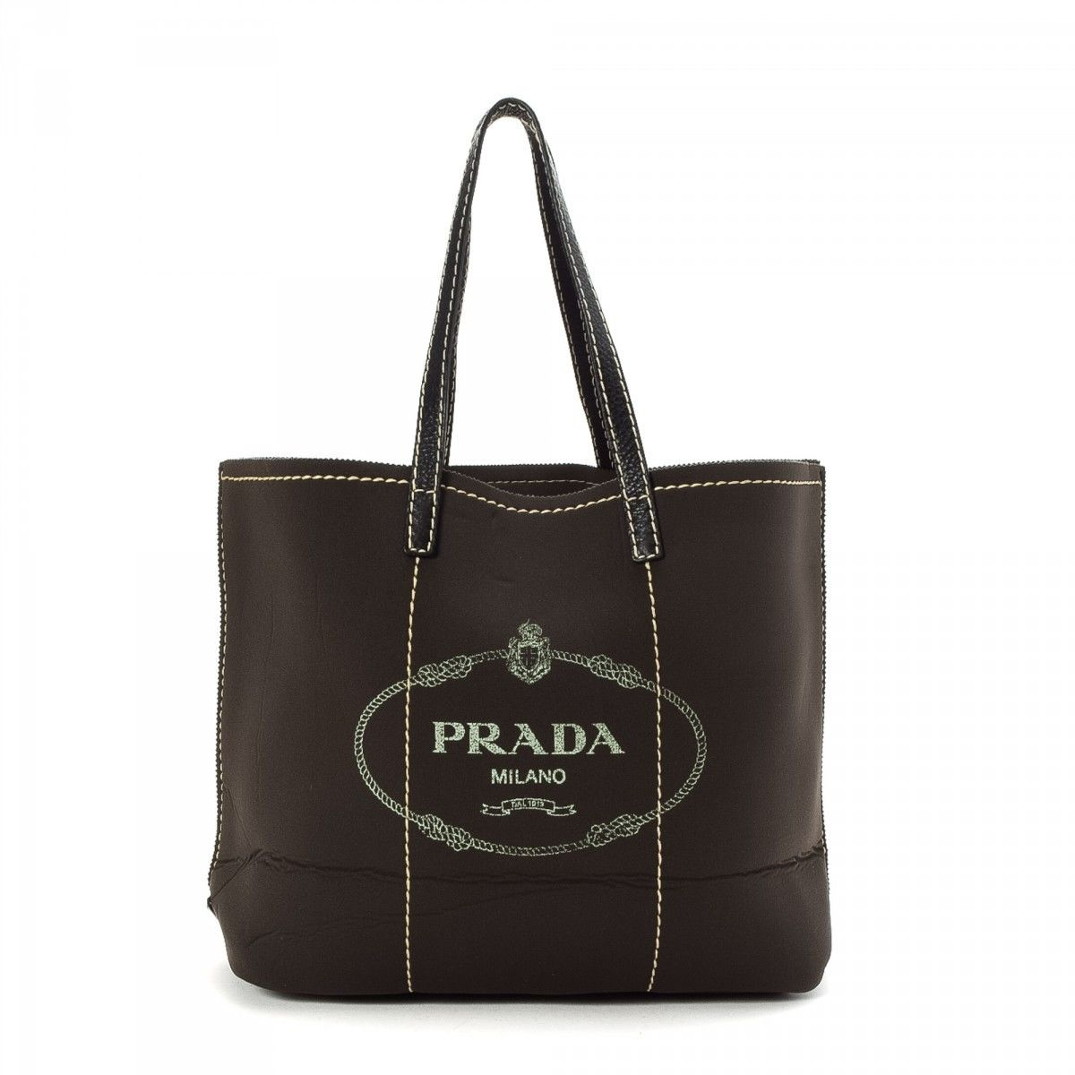 e9d447d47545 Prada Tote Bag Neoprene - LXRandCo - Pre-Owned Luxury Vintage