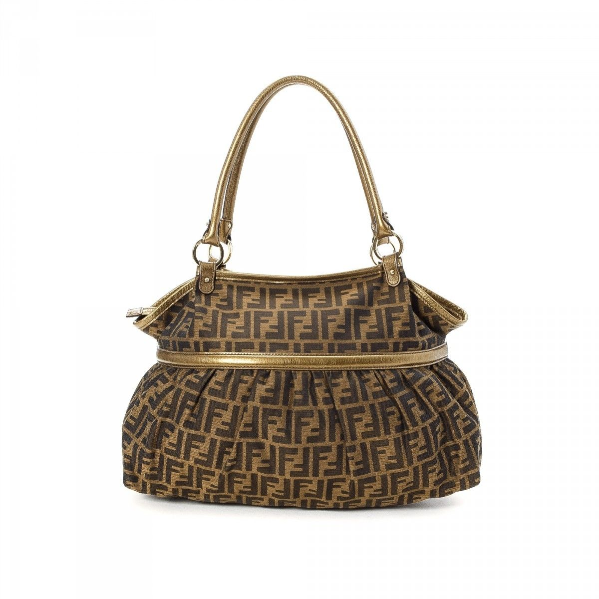 785af99e689 Fendi Chef Bag. The authenticity of this vintage Fendi Chef Bag shoulder bag  is guaranteed by LXRandCo.