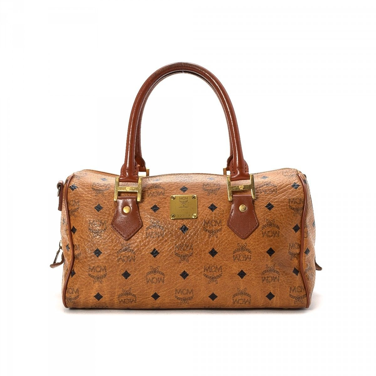 MCM Pre-owned - Leather travel bag I2zTuFhv7g