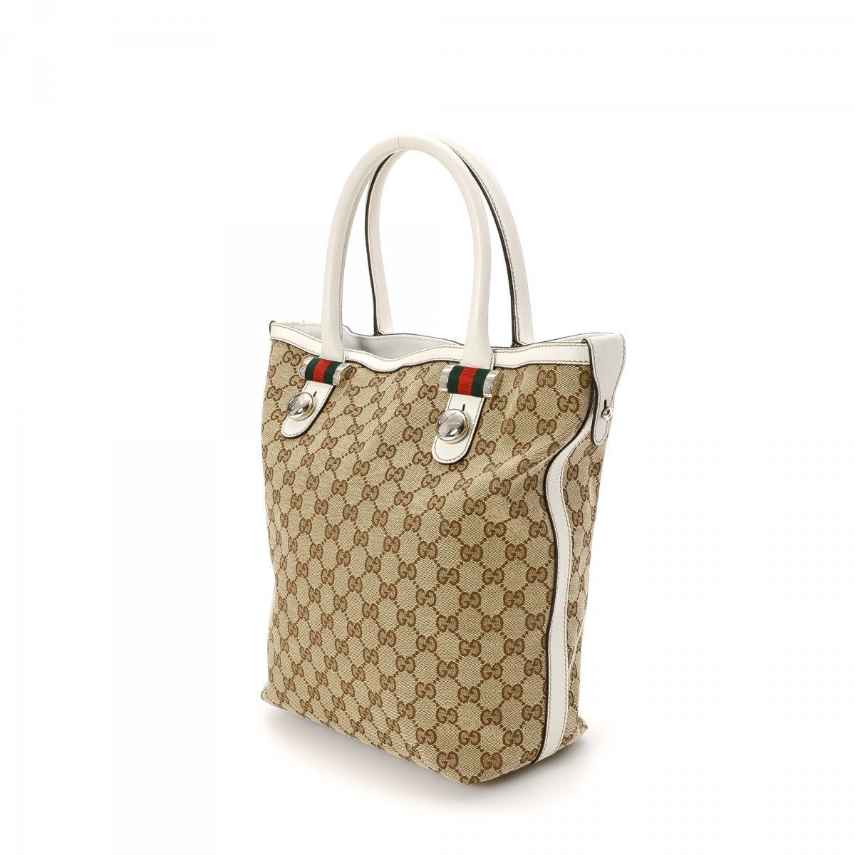a13e7a2428c8 Gucci Match Ball Tote
