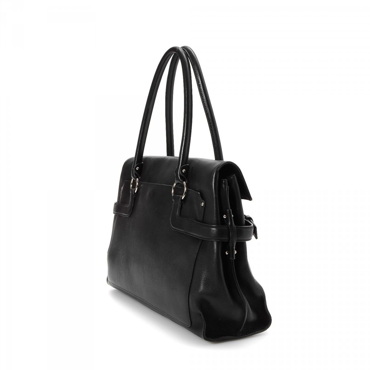 Tote Bag. LXRandCo guarantees this is an authentic vintage Ferragamo Bag  tote. This exquisite large handbag in black is made of leather. Due to the  ... 9b4a10c197b95