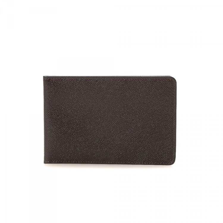 louis vuitton card holder. lxrandco guarantees this is an authentic vintage louis vuitton two id card holder wallet. crafted in taiga leather, sophisticated comes