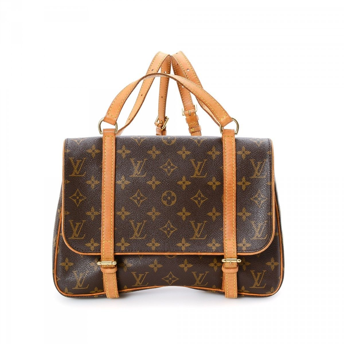 ef1fa4ca3a3 Louis Vuitton Marelle Sac a Dos Monogram Coated Canvas .