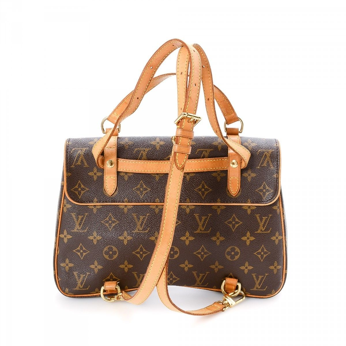 louis vuitton marelle sac a dos monogram coated canvas lxrandco pre owned luxury vintage