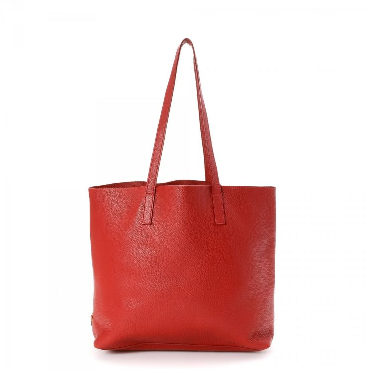 e83d3ffb06189 ... coupon code for prada red leather tote bag leather lxrandco pre owned  luxury vintage a8e2b 3a27a