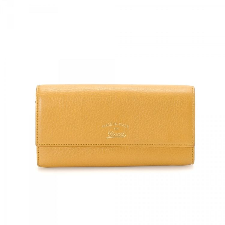 Gucci 50th anniversary japan continental wallet leather lxrandco lxrandco guarantees this is an authentic vintage gucci 50th anniversary japan continental wallet this signature card case was crafted in leather in colourmoves