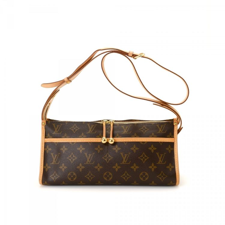 6316475f227e ... Louis Vuitton Popincourt Long messenger   crossbody bag. This beautiful  saddle bag in brown is made in monogram coated canvas. Due to the vintage  nature ...