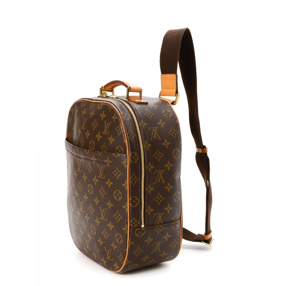 louis vuitton sac a dos packall monogram coated canvas lxrandco pre owned luxury vintage