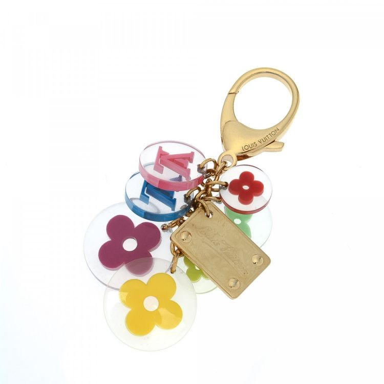 ecb7770264be Louis Vuitton Candy Key Chain Bag Charm Brass - LXRandCo - Pre-Owned ...