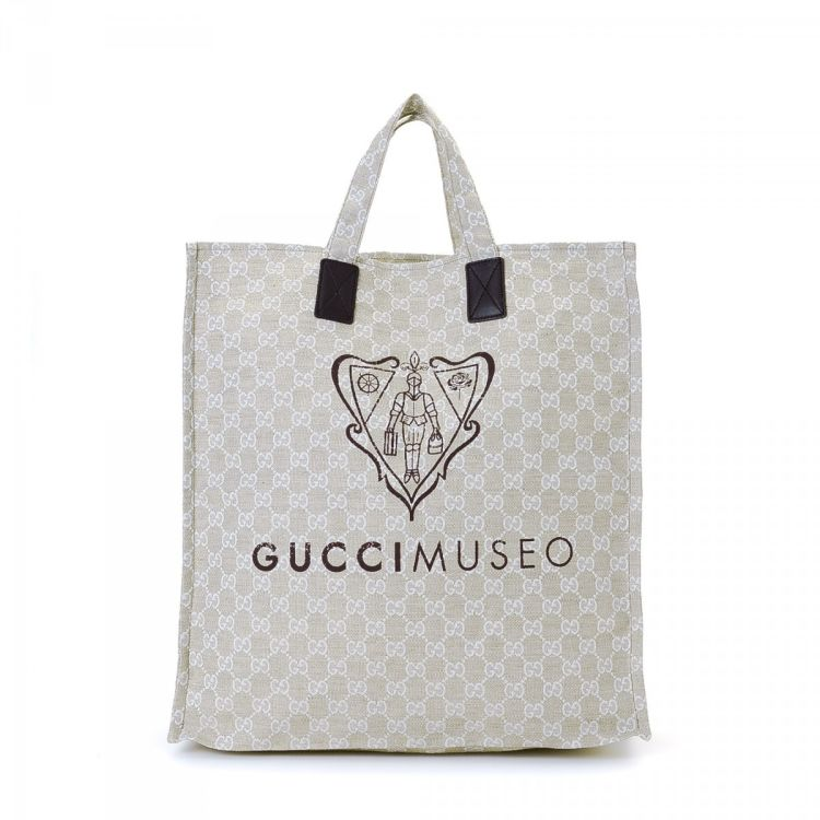 Gucci Museo.Gucci Museo Tote Gg Canvas Lxrandco Pre Owned Luxury Vintage