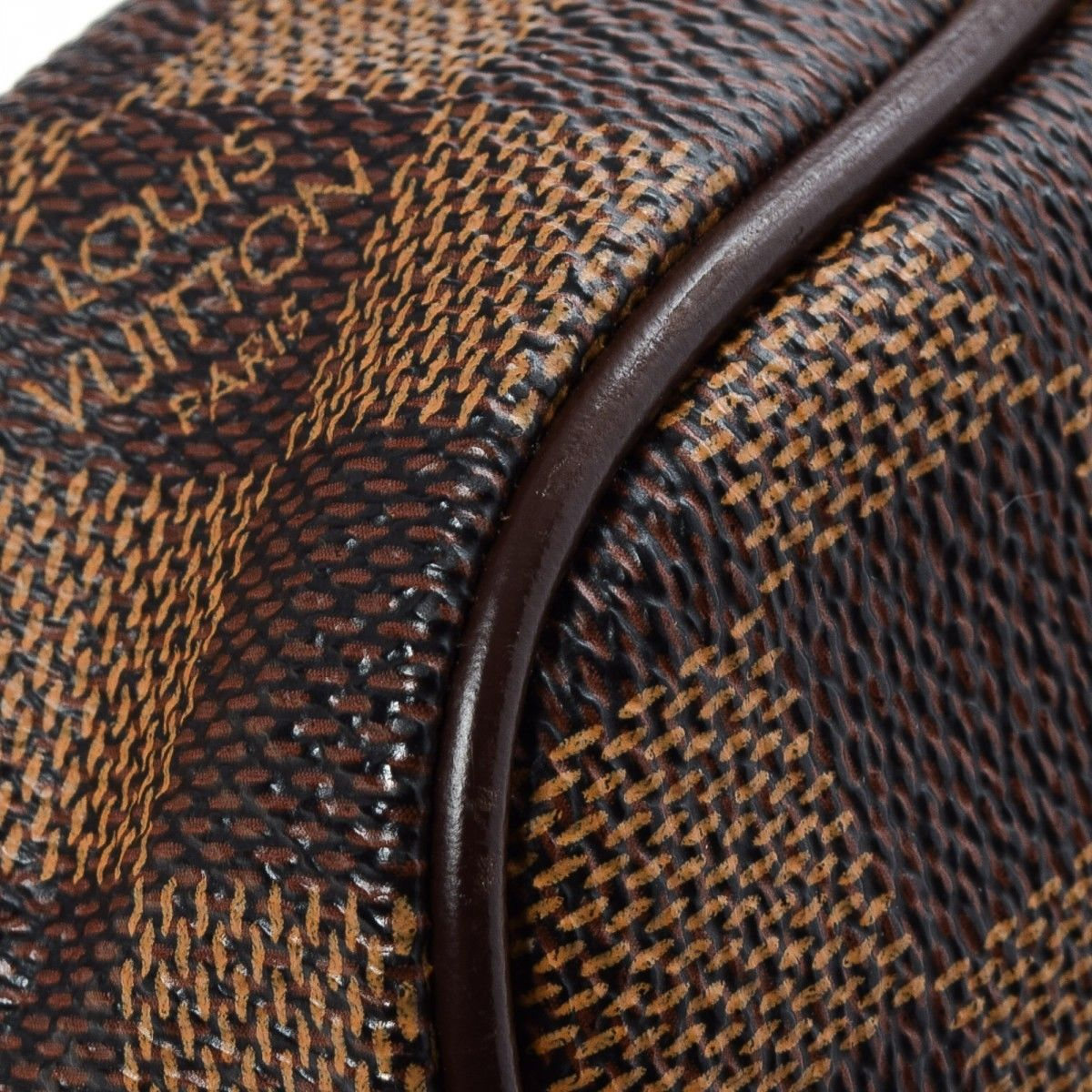 b294ab8a803a Louis Vuitton Rift Damier Ebene Coated Canvas - LXRandCo - Pre-Owned ...