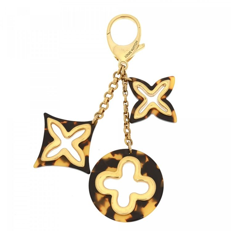 ae0bcaf999fc LXRandCo guarantees the authenticity of this vintage Louis Vuitton  Insolence Key Chain Bag Charm jewelry. Crafted in metal and enamel