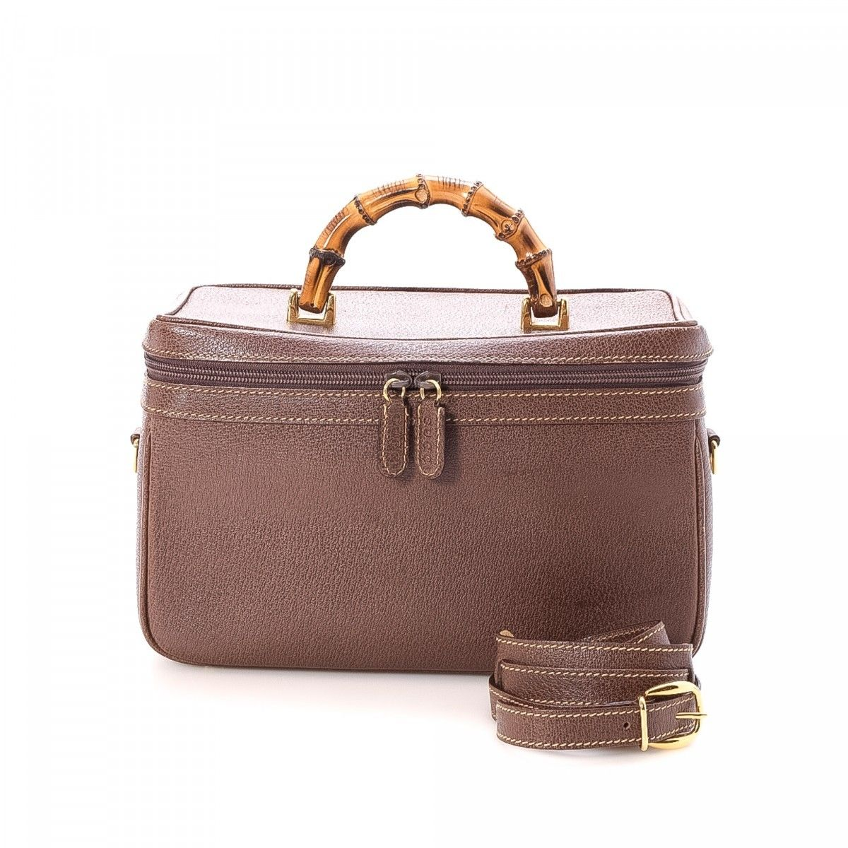 Gucci Pre-owned - Leather vanity case NupD5sgcs0