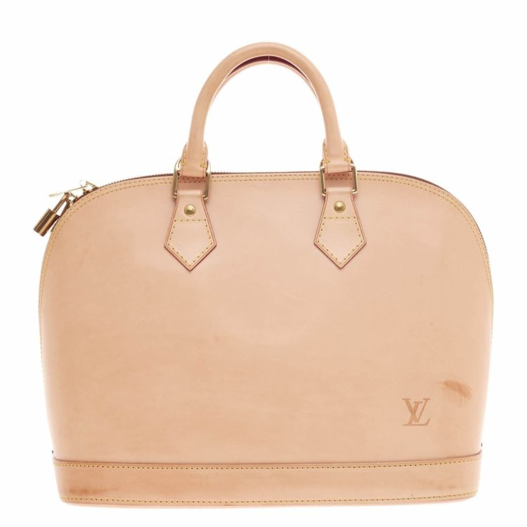 6029becdf20c Louis Vuitton Alma Handbag Limited Edition Leather - LXRandCo - Pre ...
