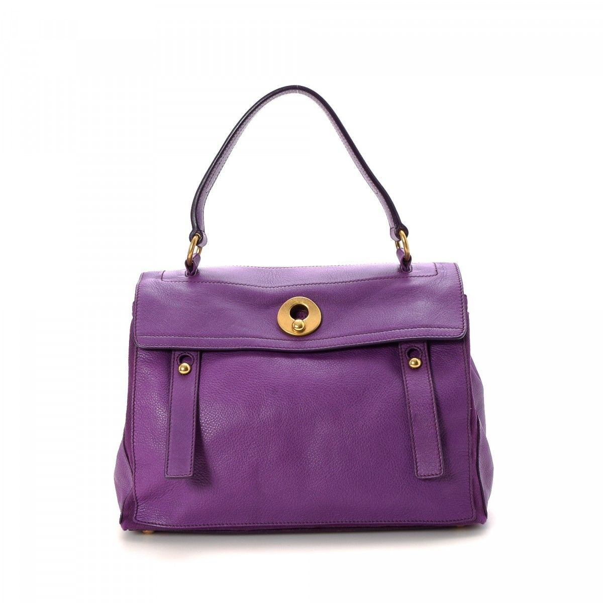 e8d3584a3c19 Yves Saint Laurent Muse Two Leather - LXRandCo - Pre-Owned Luxury ...