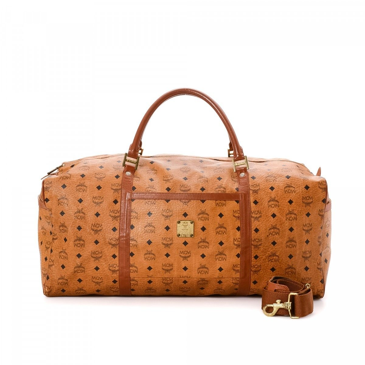 MCM Pre-owned - Leather travel bag Jevlp