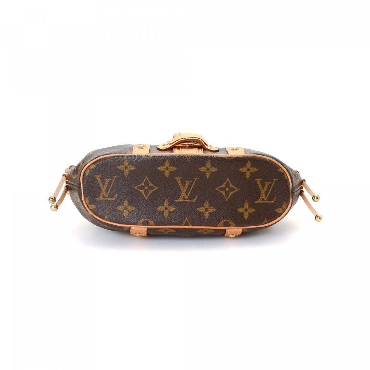 5e82e490b03d Louis Vuitton Theda PM Monogram Coated Canvas - LXRandCo - Pre-Owned ...