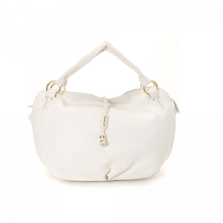14197c07de7eb LXRandCo guarantees this is an authentic vintage Céline Bittersweet Bag  shoulder bag. This practical shoulder bag in white is made of leather. Due  to the ...