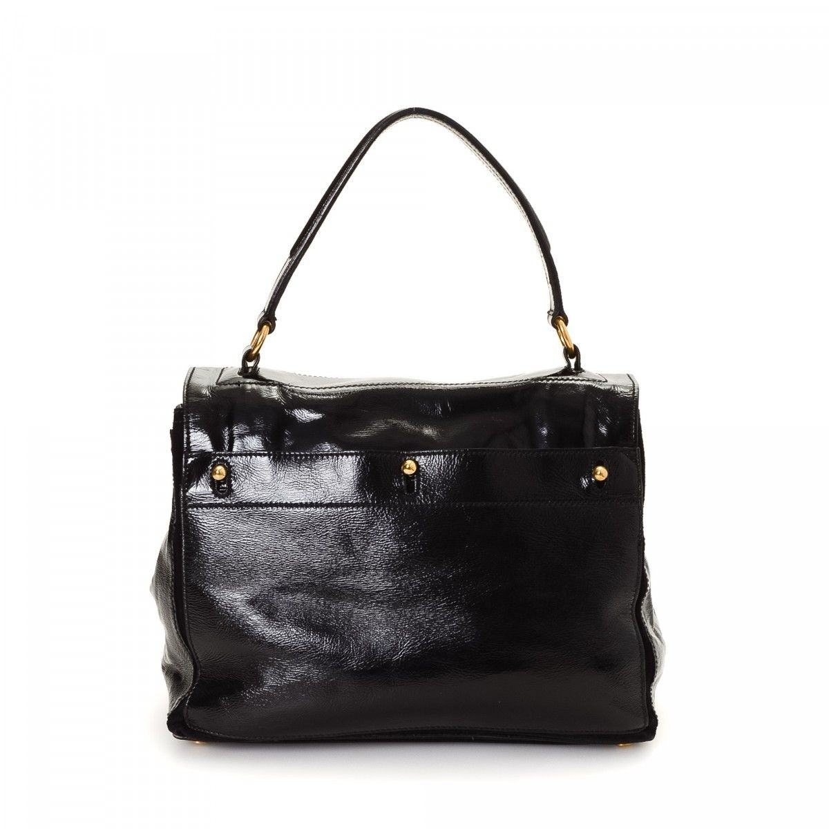 Yves Saint Laurent Muse Two Patent leather - LXRandCo - Pre-Owned ... 80706049423b8