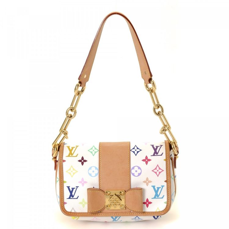 18a0bb11a969 Louis Vuitton Patti Monogram Multicolore Coated Canvas - LXRandCo – Trésors  d occasion
