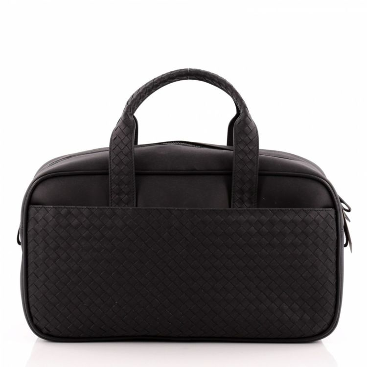 6785f90251ce The authenticity of this vintage Bottega Veneta Marco Polo Duffle Bag Nappa  Large travel bag is guaranteed by LXRandCo. Crafted in intrecciato leather